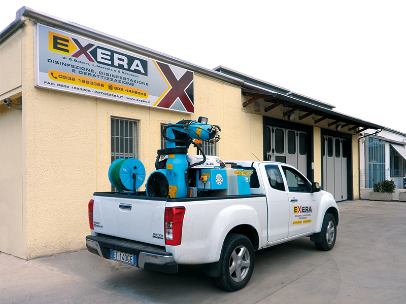 La sede di Exera azienda di disinfestazione, disinfezione e derattizzazione