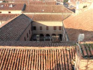 Vista Cortile Santa Maria in Vado Ferrara