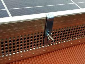 Sistema antipiccione per impianto fotovoltaico