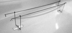 Filo doppio cable bird dissuasore per piccioni
