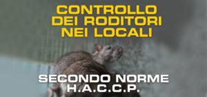 Controllo roditori con haccp