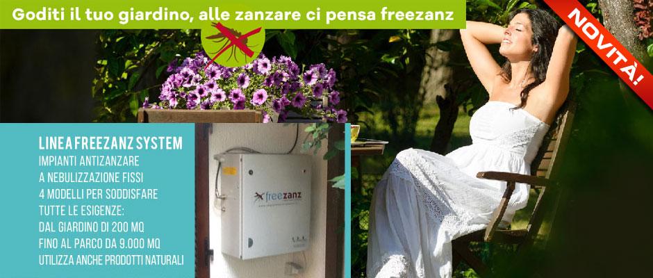 Antizanzare: Exera presenta il sistema di nebulizzazione fissa
