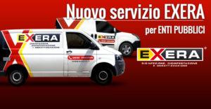 Nuovo servizio EXERA per enti pubblici